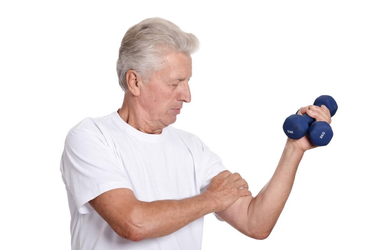 Starostni upad mišične mase